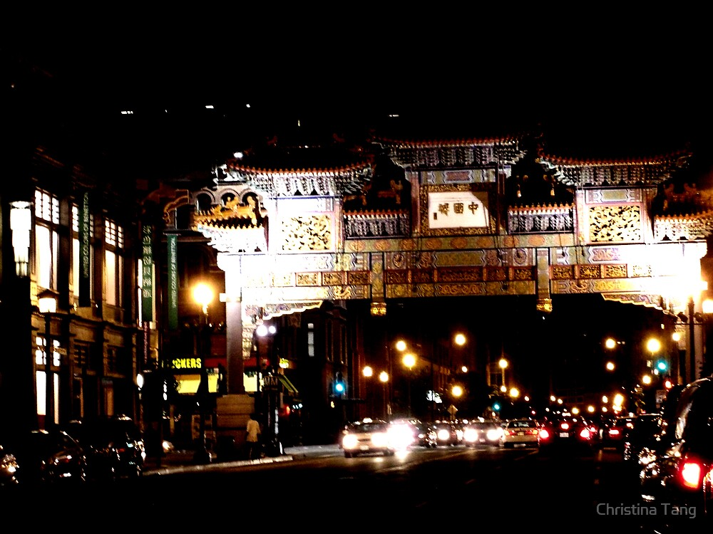 Washington D.C. Chinatown by Christina Tang