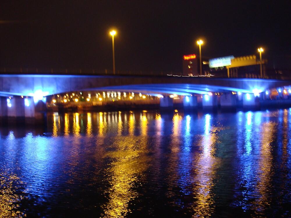 Bridge over blue water! by CiaraMcErlean
