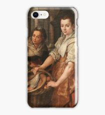 Beuckelaer, Joachim - Christ At Home With Martha And Mary iPhone Case/Skin
