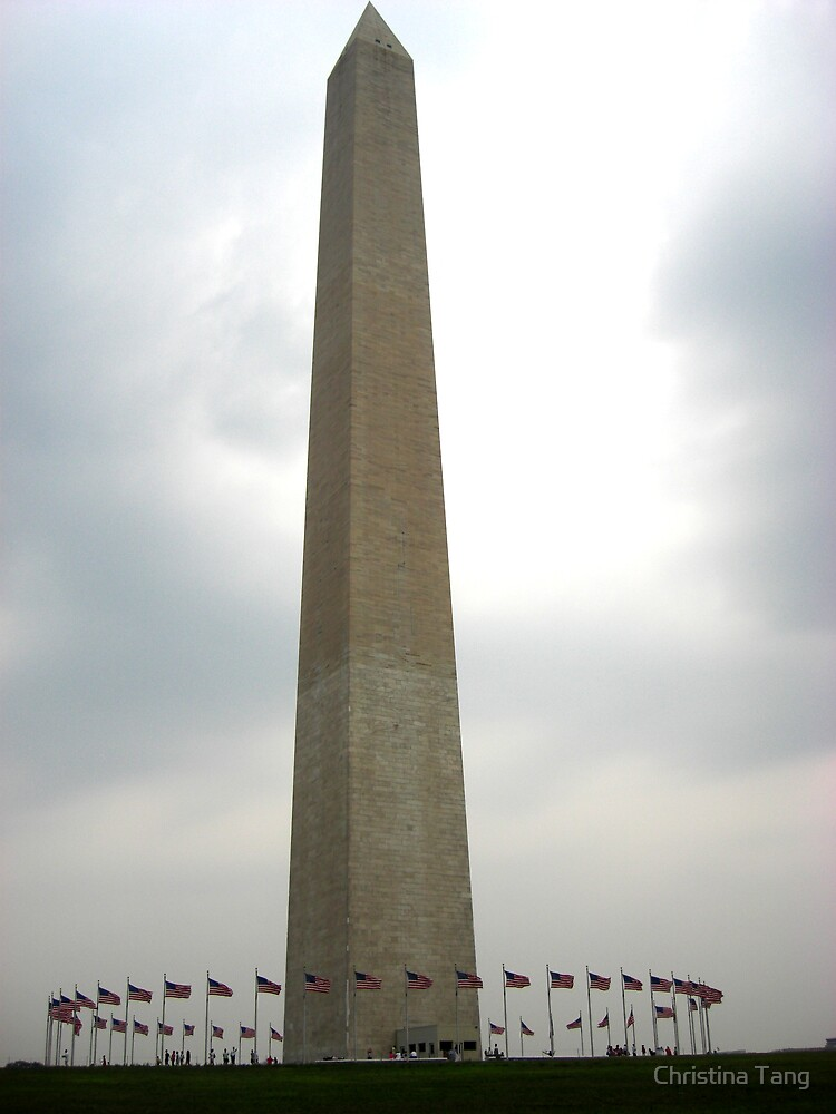 Washington Monument  by Christina Tang