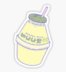 Banana Milk Sticker
