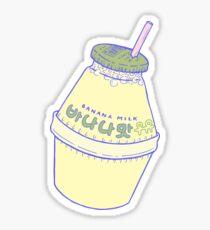 Banana Milk Sticker