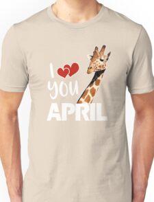 April The Giraffe T Shirt Unisex T-Shirt