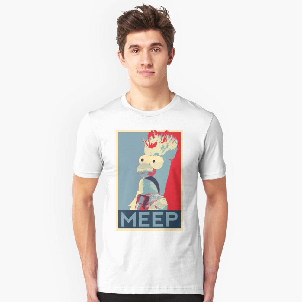 Meep Unisex T-Shirt Front