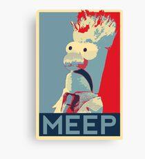 Meep Canvas Print