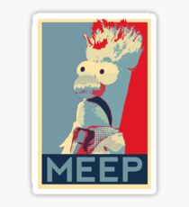 Meep Sticker