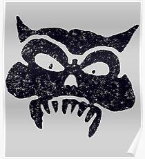 Battered Demon Skull v1 Poster