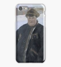 Boris Kustodiev - Portrait Of Landowner A P Warfolomev 1902 iPhone Case/Skin