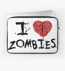 I heart Zombies Laptop Sleeve