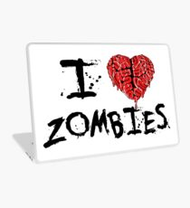 I heart Zombies Laptop Skin