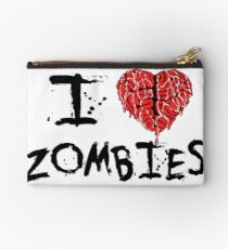 I heart Zombies Studio Pouch