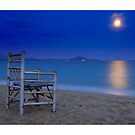 Watching the moon set by ozczecho