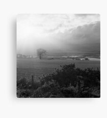 Crepuscular Rays, Foreteviot Canvas Print