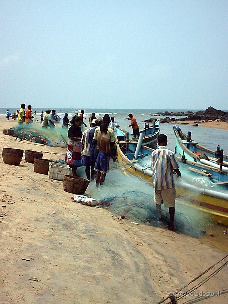 Goan Fishermen by Steve Dowdeswell