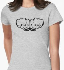 Canada! Womens Fitted T-Shirt
