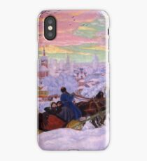 Boris Kustodiev - Shrovetide 1916 iPhone Case/Skin