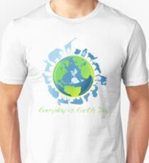Everyday is Earth Day Unisex T-Shirt