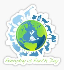 Everyday is Earth Day Sticker