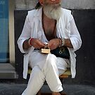 Old hippy by Bob Martin
