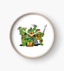 Turtle Ninja Clock