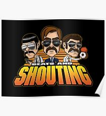 Beats and Shouting Poster