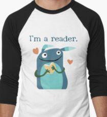 Reader Men's Baseball ¾ T-Shirt