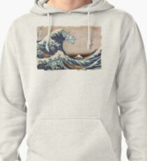 The Great Wave off Kanagawa Pullover Hoodie