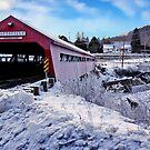 Taftsville Covered Bridge by Nancy Richard