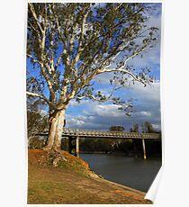 John Foorde Bridge at Corowa Poster