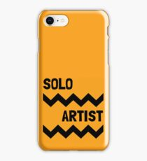 SOLO ARTIST AT WORK iPhone Case/Skin