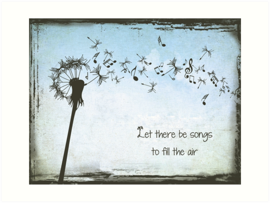 Grateful Dead - Let Their Be Songs to Fill the Air by SouthernSassArt