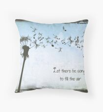 Grateful Dead - Let Their Be Songs to Fill the Air Throw Pillow