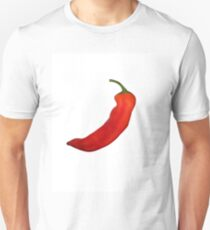 Red pepper on a white background T-Shirt