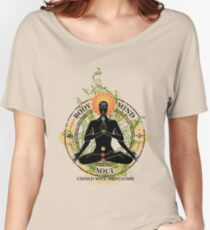 Yoga : Mind Body and Soul KUNDALINI Women's Relaxed Fit T-Shirt