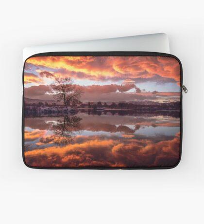 Rolling Thunder Sunset Laptop Sleeve