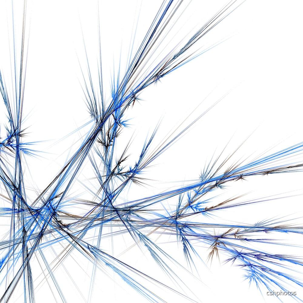 Blue Laser Fractal by cshphotos