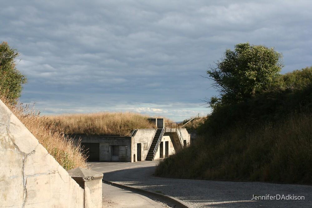 Desolate Fort Casey by JenniferDAdkison