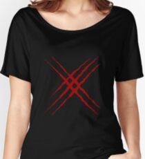 X-10 & X-23 Claw Rip Women's Relaxed Fit T-Shirt