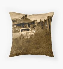 Abandoned house no 2 Throw Pillow