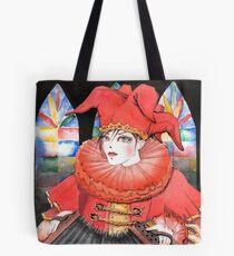 Red Pierrot Tote Bag