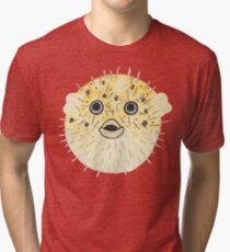 Pufferfish Pop Tri-blend T-Shirt