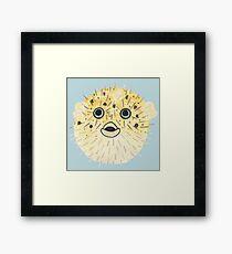 Pufferfish Pop Framed Print
