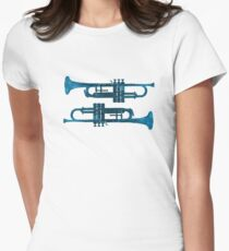 Trumpets Womens Fitted T-Shirt