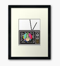 Nothing To Watch On TV Framed Print