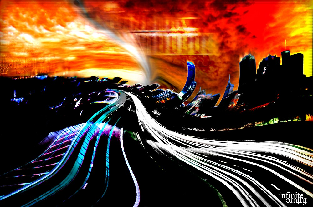 """Reflections of our past - """"Infinite Future Chaos"""" (2007) by Visions"""