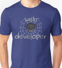 Eight-legged web developer Unisex T-Shirt