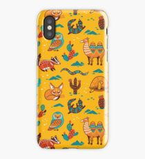 Desert animals iPhone Case/Skin