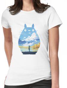 My Neighbor Totoro  Womens Fitted T-Shirt
