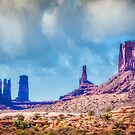 Monument Valley by vivsworld