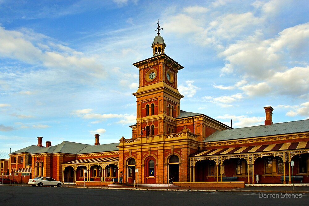Albury Railway Station by Darren Stones